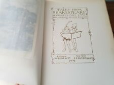 Tales from Shakespeare Lamb Rackham 347/750  1909