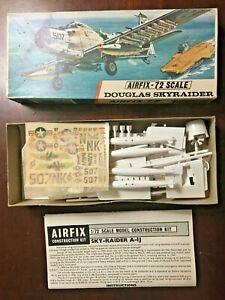 Vintage Airfix Skyrader 1/72