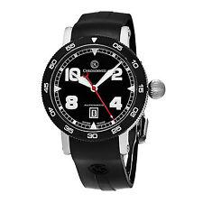 Chronoswiss Men's TimeMaster Swiss Automatic Black Rubber Strap Watch CH-8643B