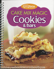 CAKE MIX MAGIC COOKIES & BARS Cookbook NEW Recipes BAKING Simple TREATS Easy