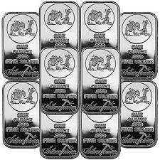 SilverTowne Logo 1oz .999 Fine Silver Bar LOT OF 10