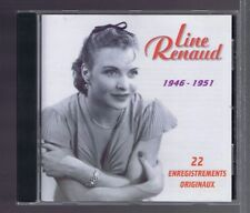 CD LINE RENAUD COMPILATION 1946-1951 22 (ENREGISTREMENTS ORIGINAUX)