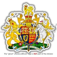 UK Royal Coat of Arms UNITED KINGDOM British Vinyl Bumper Sticker, Decal