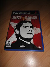 PS2 GAME: JUST CAUSE