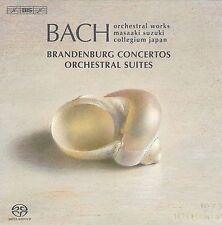 Bach: Brandenburg Concertos; Orchestral Suites Super Audio CD (CD, Aug-2009,...