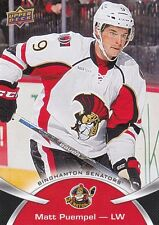 MATT PUEMPEL 2015-16 15-16 UPPER DECK AHL BASE SP #106 BINGHAMTON SENATORS !