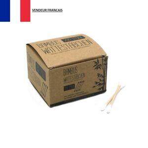 Boîte de 200 X Coton Tiges en Bambou écologique et Durable Cure Oreille