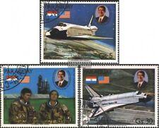 Paraguay 3420-3422 (edición completa) usado 1981 Transbordador Espacial