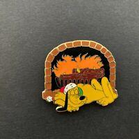DisneyShopping 2006 Advent Pin Set #1 - Pluto Sleeping by Fire Disney Pin 50338