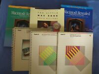 Vintage Apple Macintosh Reference Manual Computer Books Manuals Group Lot 6 Mac