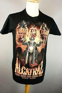 West coast choppers Alcatraz Rock Metal Fest T-Shirt 2018. size S Check Sizes