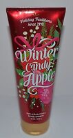 NEW BATH & BODY WORKS WINTER CANDY APPLE ULTRA SHEA CREAM HAND LOTION 8OZ LARGE