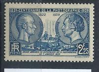 France N°427** (MNH) 1939 - Centenaire de la photographie