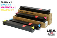 New 4 Toner Cartridges for Sharp MX-27NT, MX-2300N, 2700N (CMYK)