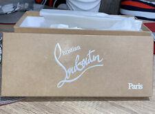 100% Authentic Christian Louboutin Empty Shoe Box. 12�x 5� X5�s