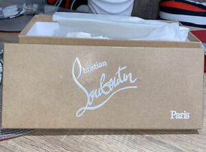"100% Authentic Christian Louboutin Empty Shoe Box. 12""x 5"" X5""s"