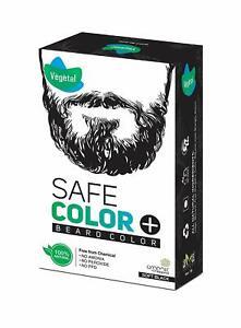 Vegetal Organic Beard Hair Dye For Men Black 25 gm Free Shipment