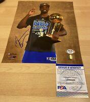 Harrison Barnes Kings Warriors Curry Autographed Signed 8X10 Photo PSA/DNA COA