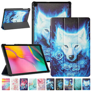 Pattern Leather Stand Case Cover for Samsung Galaxy Tab A8 10.1 A7 S7 FE S6 Lite