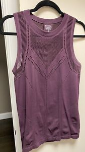 ATHLETA  Oxygen Tank Top Size Large in Agate Grape  #556414 PREOWNED