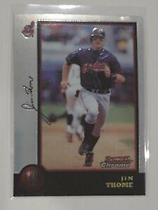 1998 Bowman Chrome Jim Thome #56 MINT - Cleveland Indians