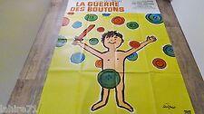 LA GUERRE DES BOUTONS   !  yves robert  affiche cinema 1962 savignac