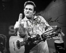 Johnny Cash signed 8x10 Autograph Photo RP - Free ShipN!! Ring of Fire