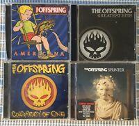 The Offspring CD Album Bundle. X4 Albums