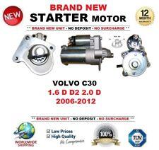 FOR VOLVO C30 1.6 D D2 2.0 D 2006-2012 BRAND NEW STARTER MOTOR 1.2kW 11-Teeth