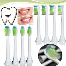 4Pcs Toothbrush Heads for Philips Sonicare DiamondClean HX6064/26 Brush Head