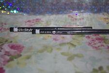LOT OF 2 Styli-Style Line & Seal Glitter Eye Pencil in #160 Black