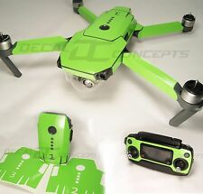 DJI Mavic Lime Green Full Graphic Wrap kit - Decal Skin Sticker Pro