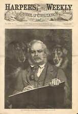 Sir Edwin Landseer, The Connoiseurs, Dogs, Portrait, Vintage 1873 Antique Print