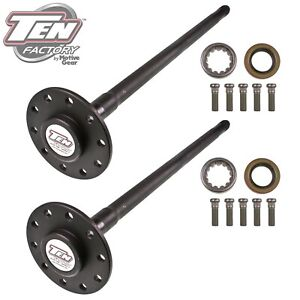 TEN Factory MG22110 Performance Axle Kit Fits 65-69 Camaro Chevelle Chevy II