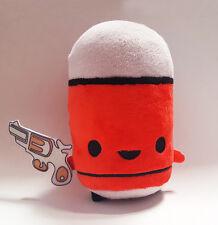 "Enter The Gungeon Bloodshot Plush Pet - Red + Steam Code - 6"" Tall! ETG 500 MADE"