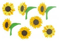 Jesse James Buttons - Dress It Up ~ Fall Blooms 7469 ~ Sunflowers