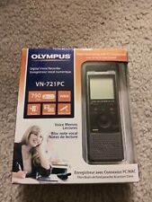 Olympus VN-721PC 2GB Portable Audio Digital Voice Recorder 790 Freeshipping