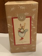 Patience Brewster Three French Hens Ornament Twelve Days Of Christmas
