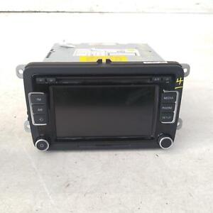 VOLKSWAGEN TIGUAN STEREO/HEAD UNIT TOUCH SCREEN CD PLAYER (RCD510), 5N, 05/08-08