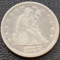 1875 Twenty Cent Piece 20c P Philadelphia RARE Silver Higher Grade #29493
