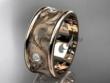 Beautiful Diamond Wedding & Anniversary Band, 14K Rose Gold Ring ADLR121BB