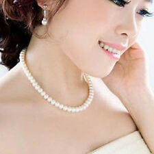 Vintage Pearl Necklace Imitation Fashion Accessories Wedding Bridal Gift UK