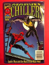 1996 Marvel Chillers Spider-man and the Mark of the Man-Wolf Sc (Marvel)