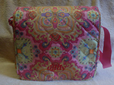 OILILY PAISLEY DIAPER BAG EXCELLENT PRE-OWNED CONDITION