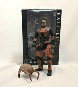 "Half Life 2 DR. GORDON FREEMAN NECA 2018 7"" figure LOOSE W/ BOX"