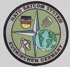 Aufnäher Patch Abzeichen NATO SatCom System - Euskirchen Germany ........A3911