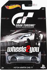ASTON MARTIN ONE-77 - 2016 Hot Wheels GRAN TURISMO - DJL12