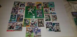 1989 - 1996 DOLPHINS Super Bowl Football Card LOT DAN MARINO Lineup Figurine