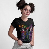 Sanderson Sisters T-Shirt Vogue Hocus Pocus Squad Halloween Adult Kids Top 58