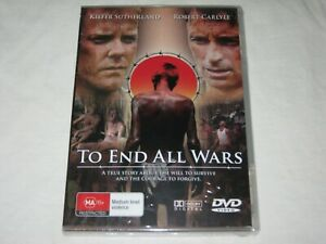 To End All Wars - Robert Carlyle - Brand New & Sealed - Region 0 - DVD